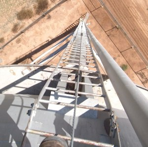 West Texas Water Tower Inspection